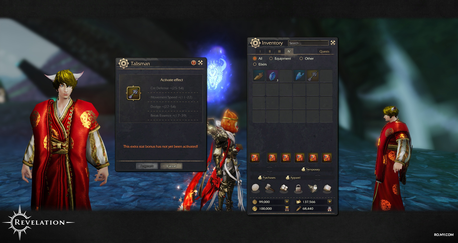 Talismans | Revelation Online - Official Website