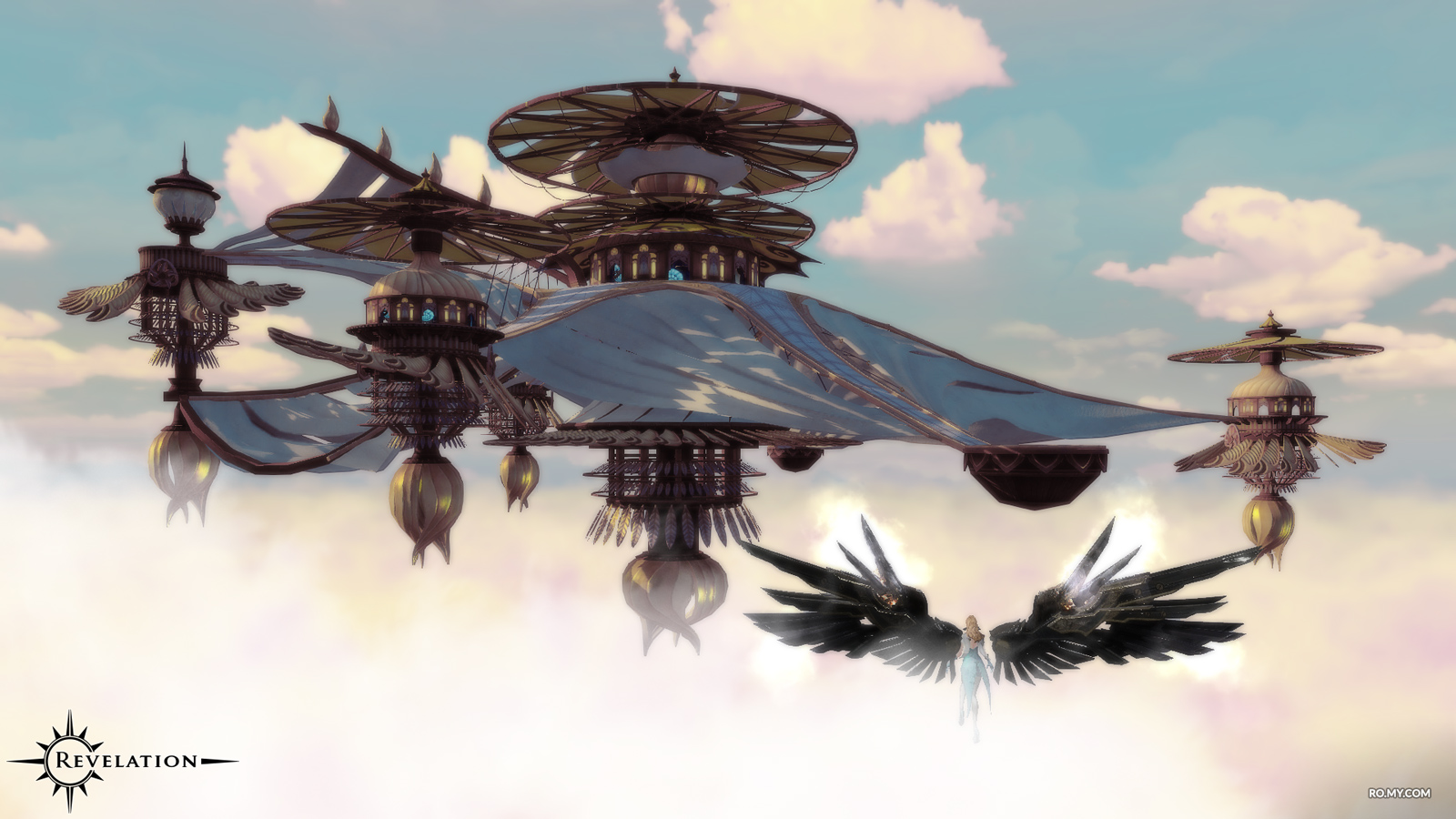 22 - Flight Mechanics: Are there MMOs with satisfying, fluid mobility, flight and sightseeing? Is Revelations Online the best example?